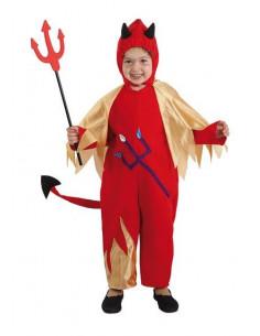 Disfraz de demonio bebé