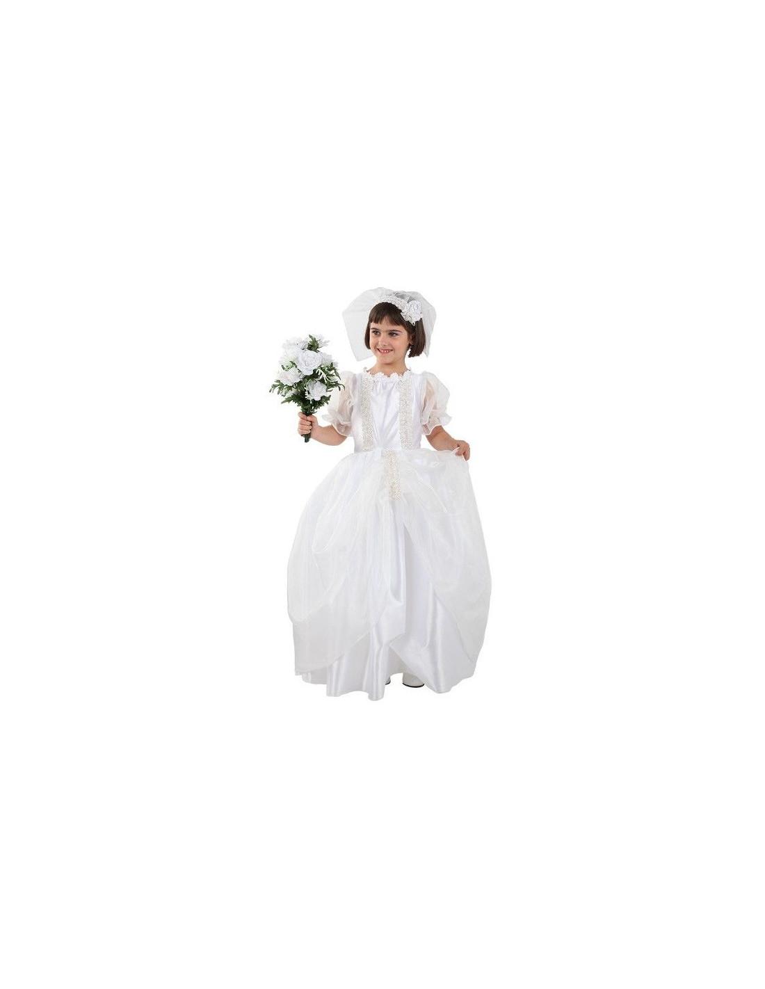 Disfraz de novia infantil - Comprar en Tienda Disfraces Bacanal