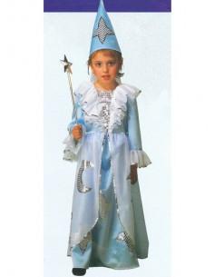 Disfraz de hada madrina azul
