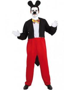 Disfraz de ratón Mickey  Tallas-XL