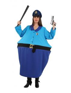 Disfraz de policia mujer divertida