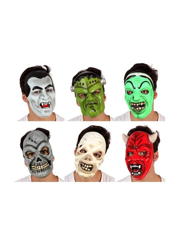 Careta eva Halloween surtidas