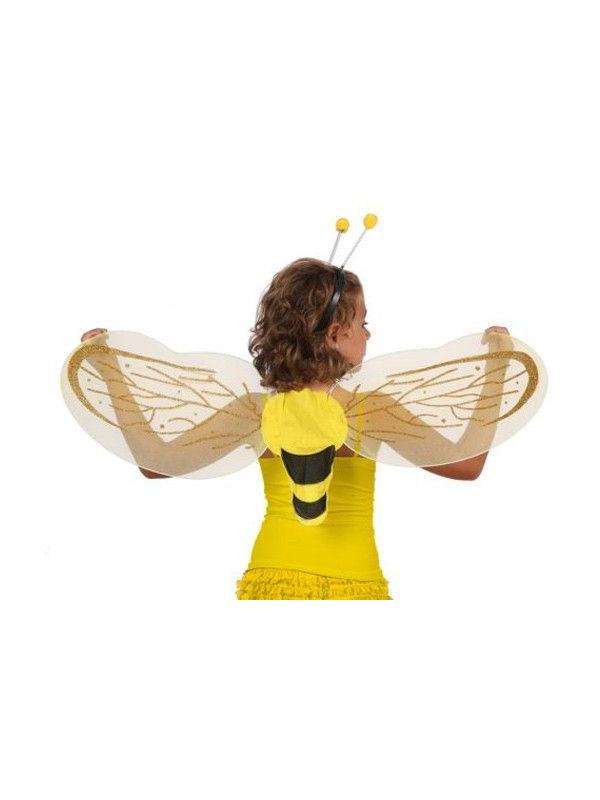 Alas abeja con diadema