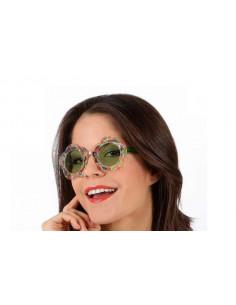 Gafas hippie flores
