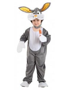 Disfraz conejo Bugs Bunny infantil