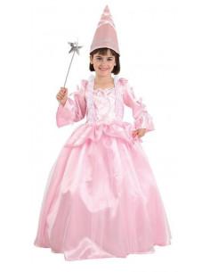 Disfraz hada madrina rosa