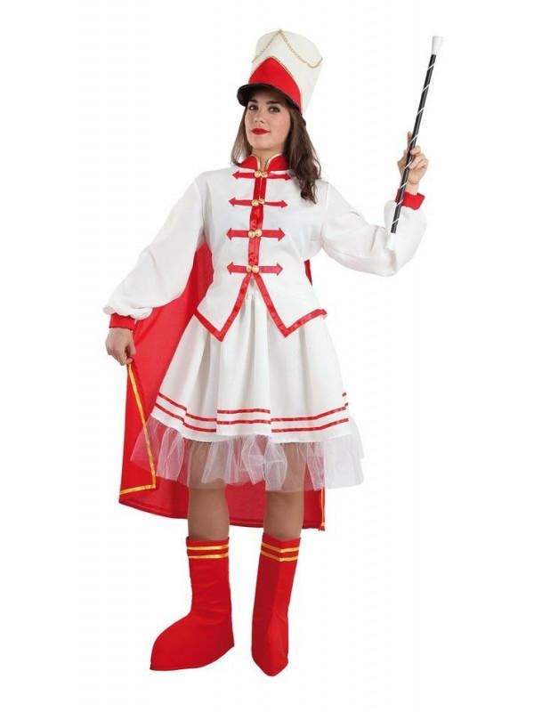 Disfraz majorette mujer