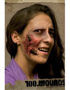 Cicatriz látex cienpies