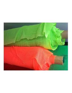 Tejido red elástica fluor
