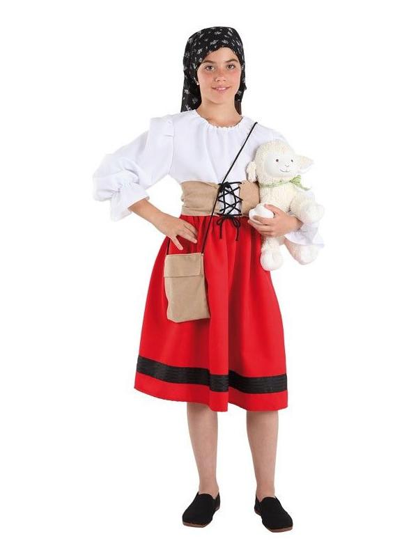 64def562f897a Disfraz pastora infantil - Comprar en Tienda Disfraces Bacanal