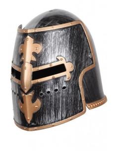 Casco caballero medieval