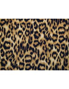 Tejido licra leopardo