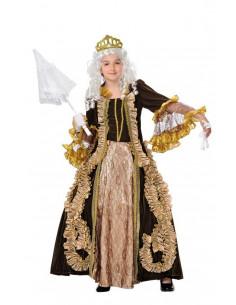 Disfraz de marquesa infantil  Tallas-8 años
