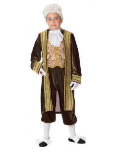 Disfraz de marqués infantil  Tallas-8 años
