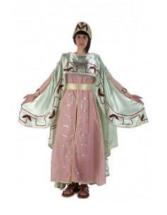 Disfraz pompeya mujer