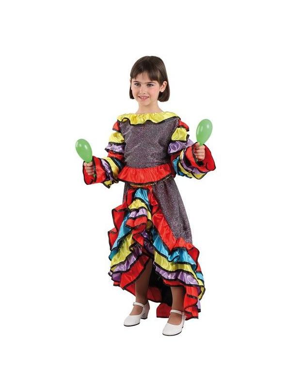 Disfraz de samba chica