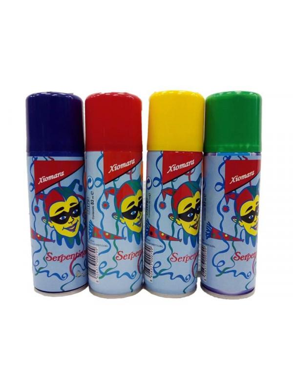 Spray serpentina