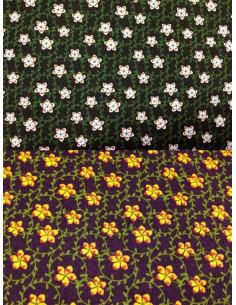 Tela patchwork de popelín estampado
