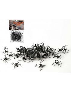 Anillo con araña negra