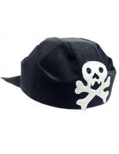 Casco pirata con calavera