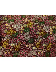Tejido para patchwork flores