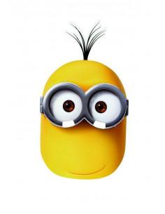 Máscara Minions Kevin