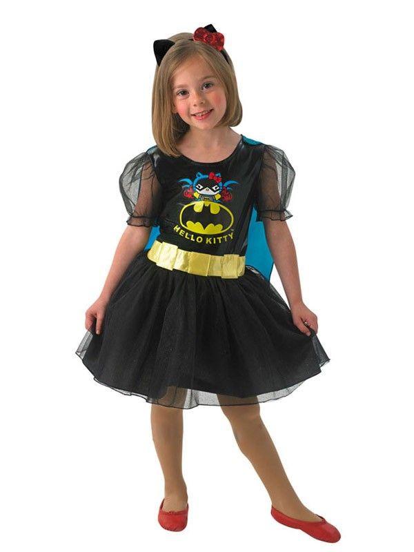 Disfraz Batgirl Hello Kitty infantil