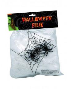 Tela de araña blanca