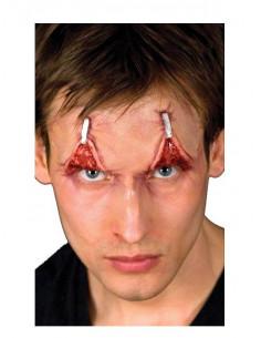 Prótesis de látex parpados con grapas