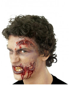 Prótesis de látex dos bocas