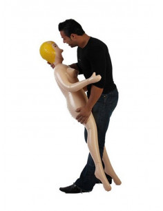 Muñeca hinchable