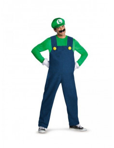 Disfraz Luigi deluxe adulto