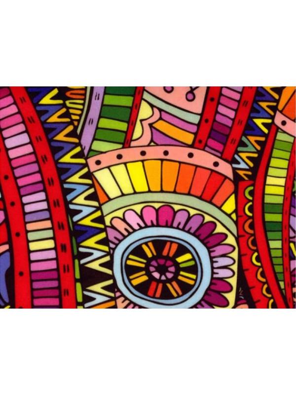 Tejido punto azteca