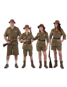 Disfraces de exploradores para grupos