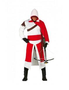 Disfraz Assassins medieval adulto