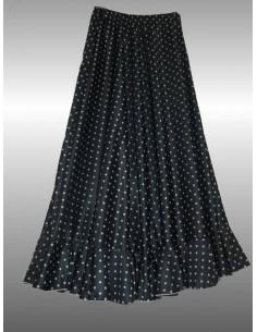 Falda de danza topo pequeño