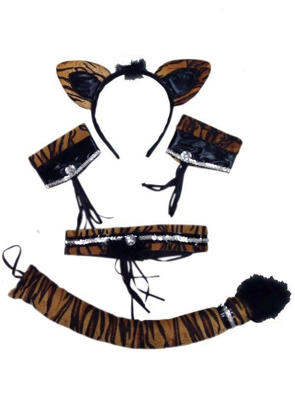 Conjunto tigresa sexy