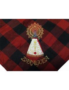 Cachirulo bordado Virgen del Pilar