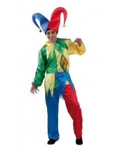 Disfraz bufón Carnaval