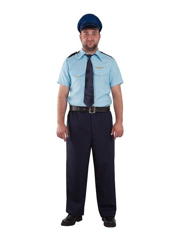 Disfraz piloto de avión