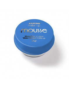Maquillaje mousse azul individual