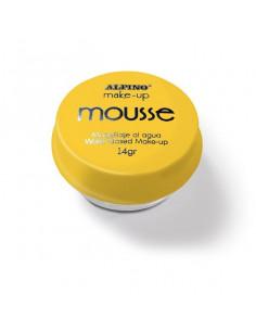 Maquillaje mousse amarillo individual