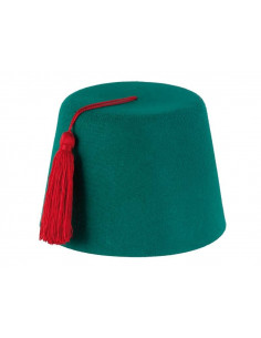 Gorro turco Verde