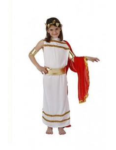 Disfraz emperatriz romana infantil