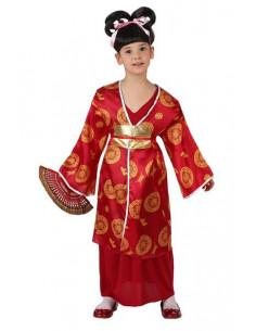 Disfraz japonesa barato niña