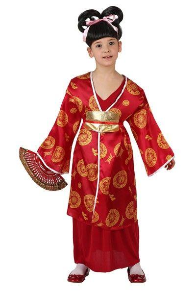 disfraces para ninos de japones