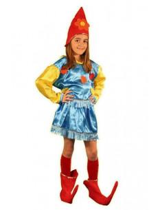 Disfraz duende niña