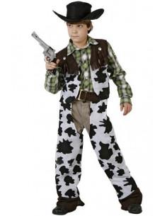 Disfraz vaquero salvaje infantil