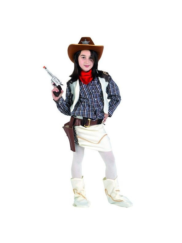 d3961f113b33e Disfraz vaquera salvaje niña - Comprar en Tienda Disfraces Bacanal