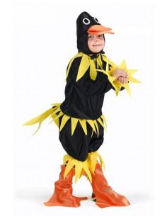 Disfraz patito negro niño